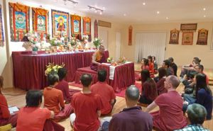 New Shrine Hall at the Pathgate Dharma Centre in Sydney