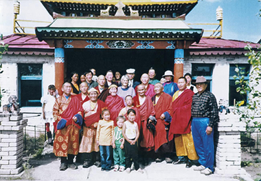 Mongolian Buddhist temple